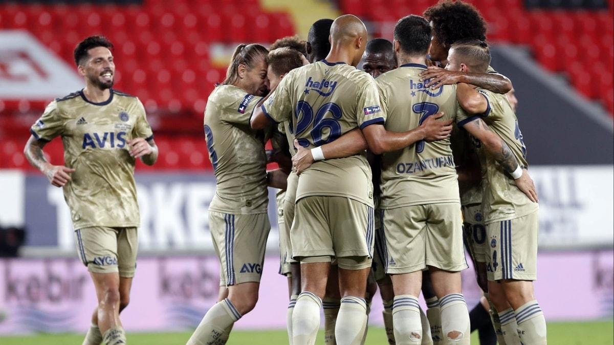 Fenerbahçe hücumda fark yaratıyor