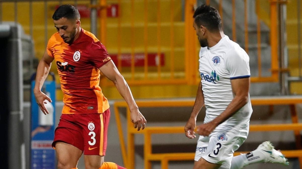 Galatasaray'da Omar Elabdellaoui formasına kavuşuyor