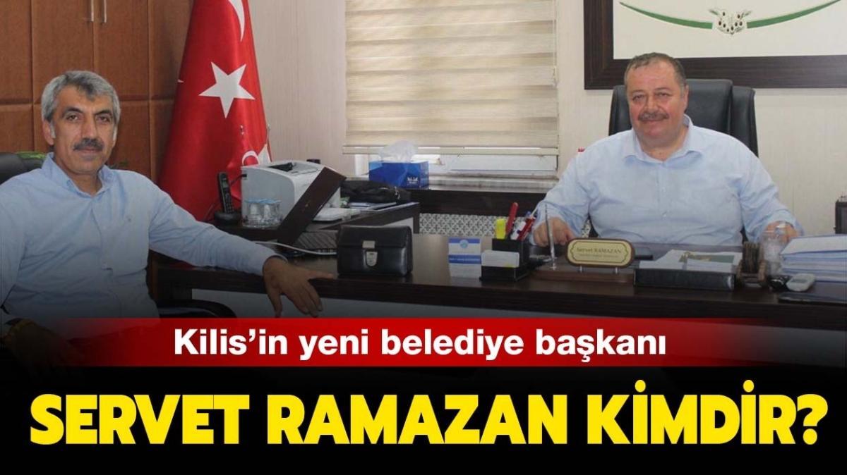 """Kilis belediye başkanı Servet Ramazan nereli"""" Servet Ramazan kimdir, kaç yaşında"""""""