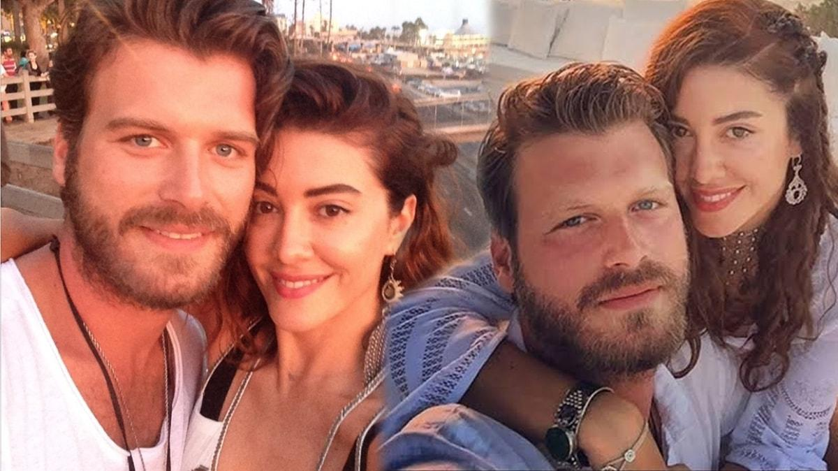 Kıvanç Tatlıtuğ'dan eşi Başak Dizer'le Marmaris tatilinden romantik paylaşım