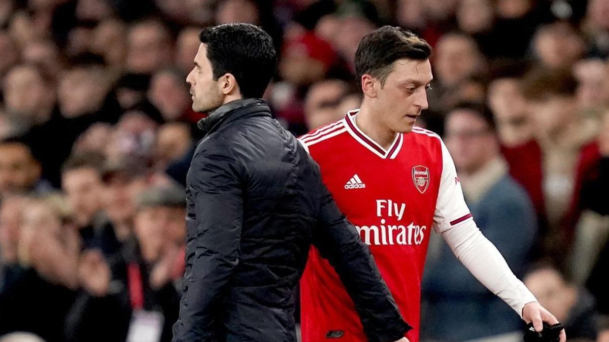 Mikel Arteta: Mesut Özil kararı tamamen futbolla alakalı, vicdanım rahat