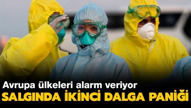 Avrupa'da koronavirüs salgınında 'ikinci dalga' paniği