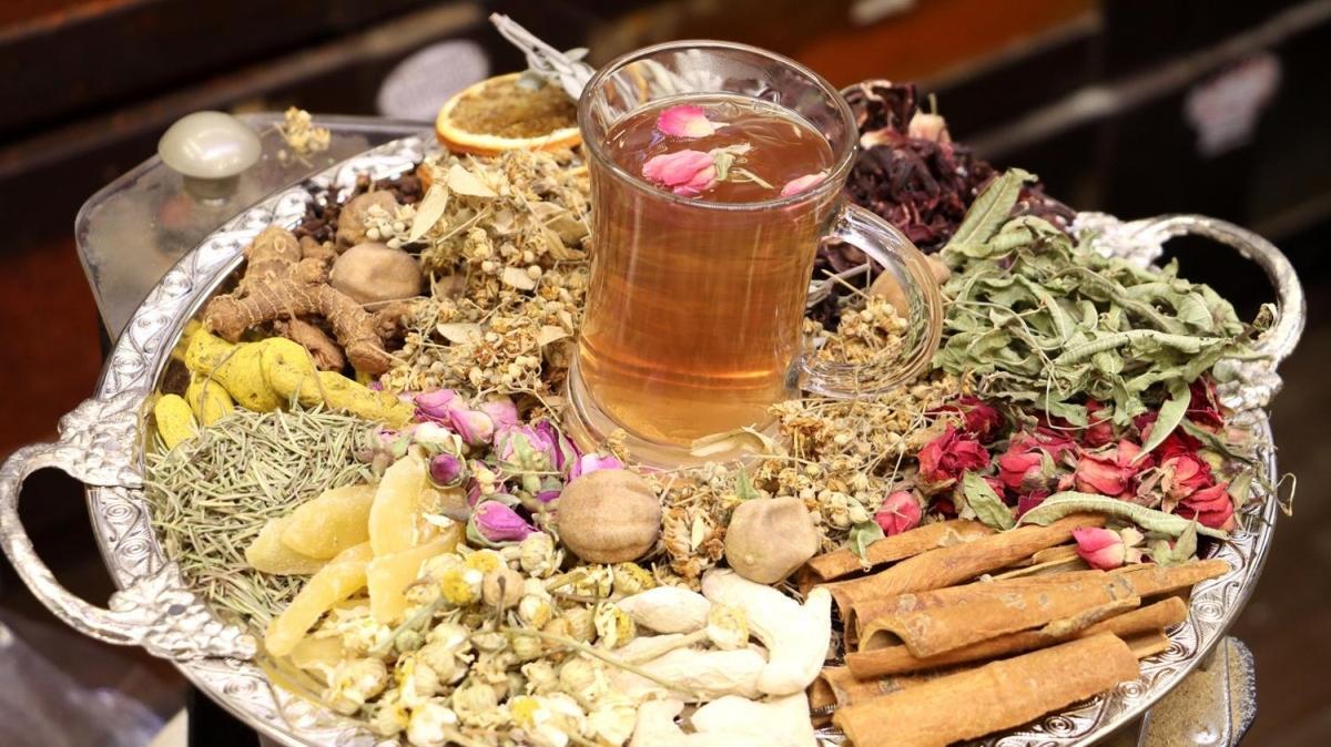 12 çeşit bitkiden hazırlanan Osmanlı çayının faydaları