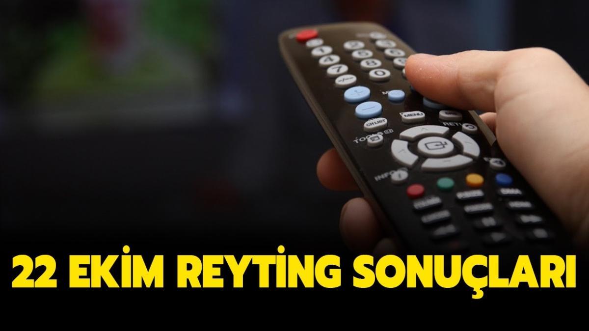22 Ekim reyting sonuçları  açıklandı!