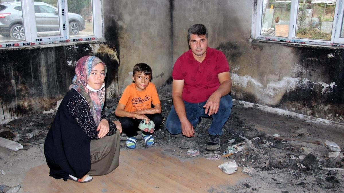 """Aile 8 yıldır giremiyor: Yangın çıkan oda """"delil"""" nedeniyle kilitli"""