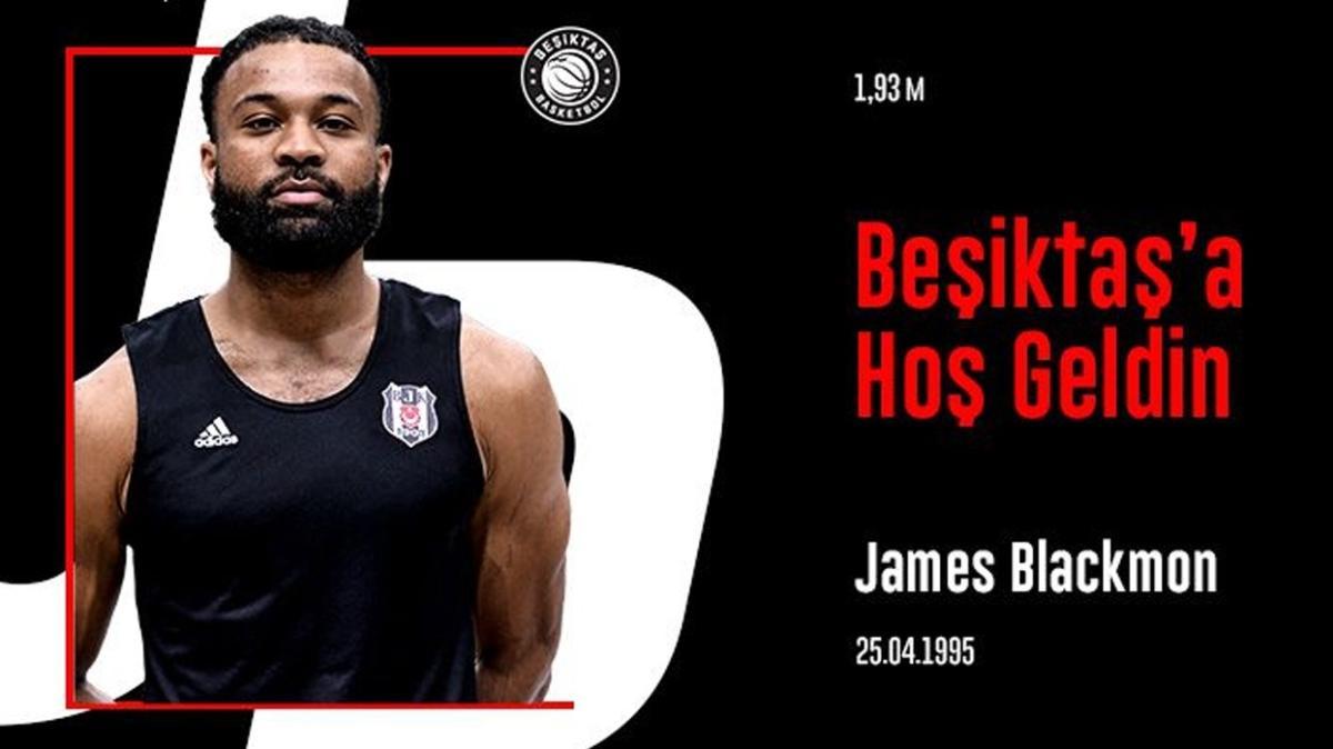 Beşiktaş, James Blackmon'u transfer etti