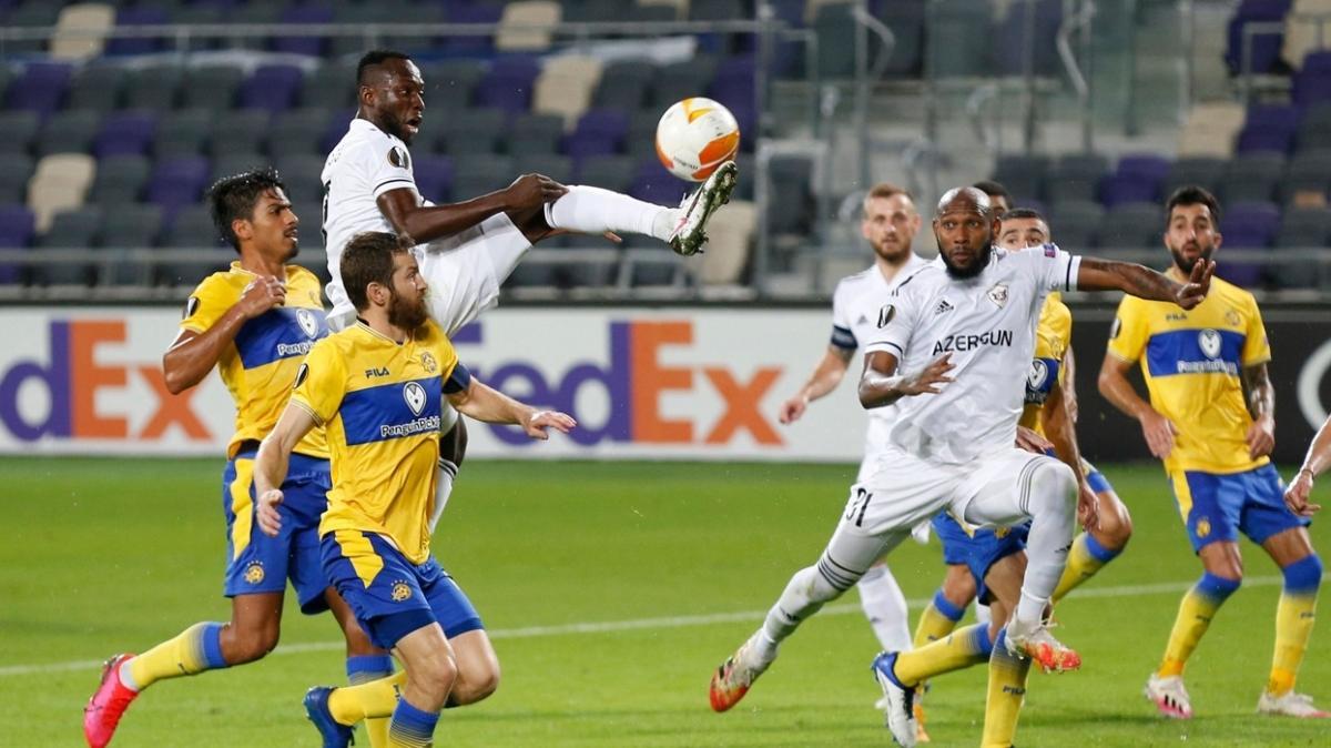 Karabağ deplasmanda Maccabi Tel-Aviv'e 1-0 mağlup oldu