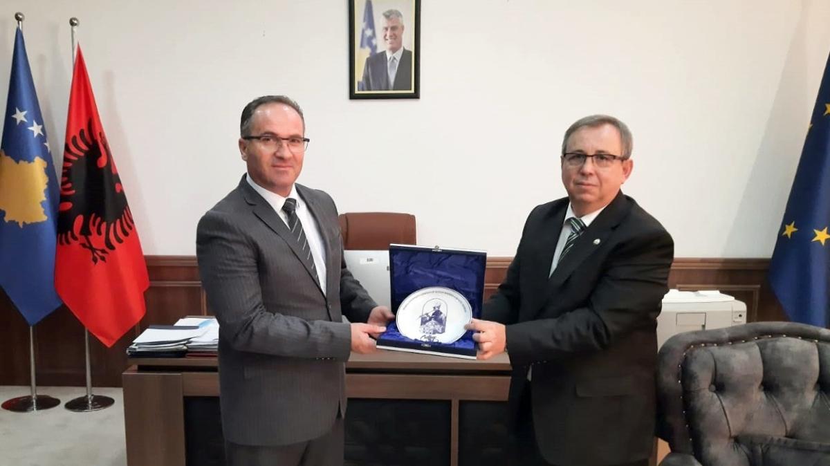 Kosova Ticaret ve Sanayi Bakanı Vesel Krasniqi, Trakya Üniversitesi heyetini ağırladı