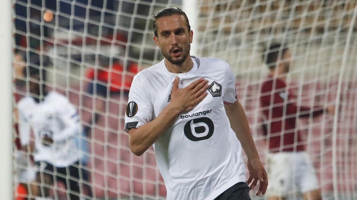 Lille kulübü ve Galtier, Yusuf Yazıcı'yı göklere çıkardı