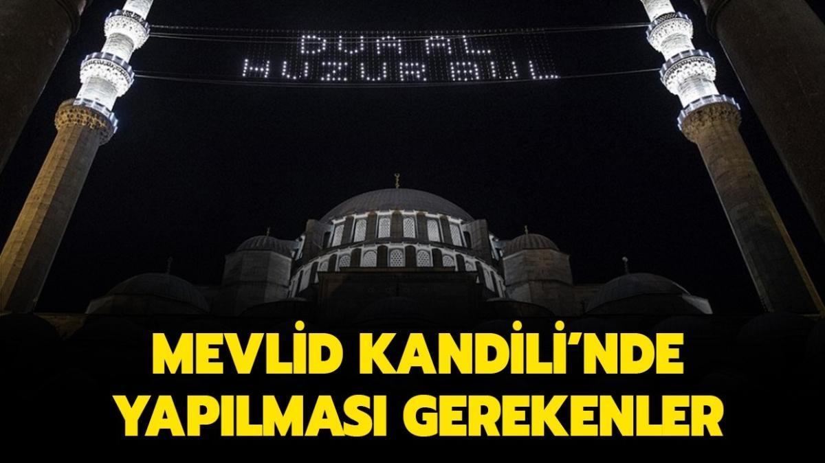 "Mevlid Kandili orucu ne zaman tutulur"" Mevlid Kandili'nde oruç tutulur mu"""