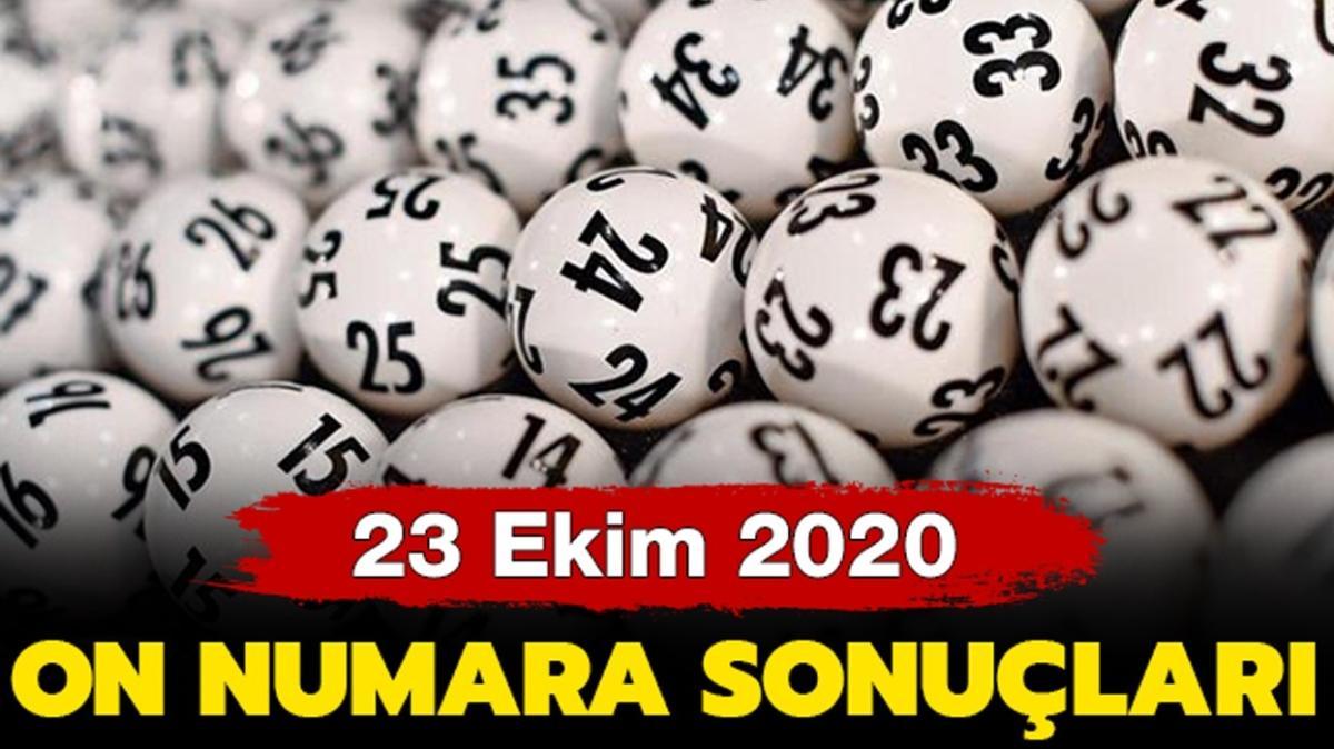 On Numara sonuçları sorgulama ekranı: MPİ On Numara 23 Ekim 2020 sonuçları belli oldu!