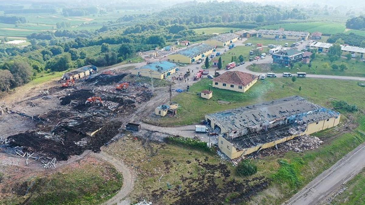 Sakarya'daki havai fişek fabrikasındaki patlamaya ilişkin istenen cezalar belli oldu