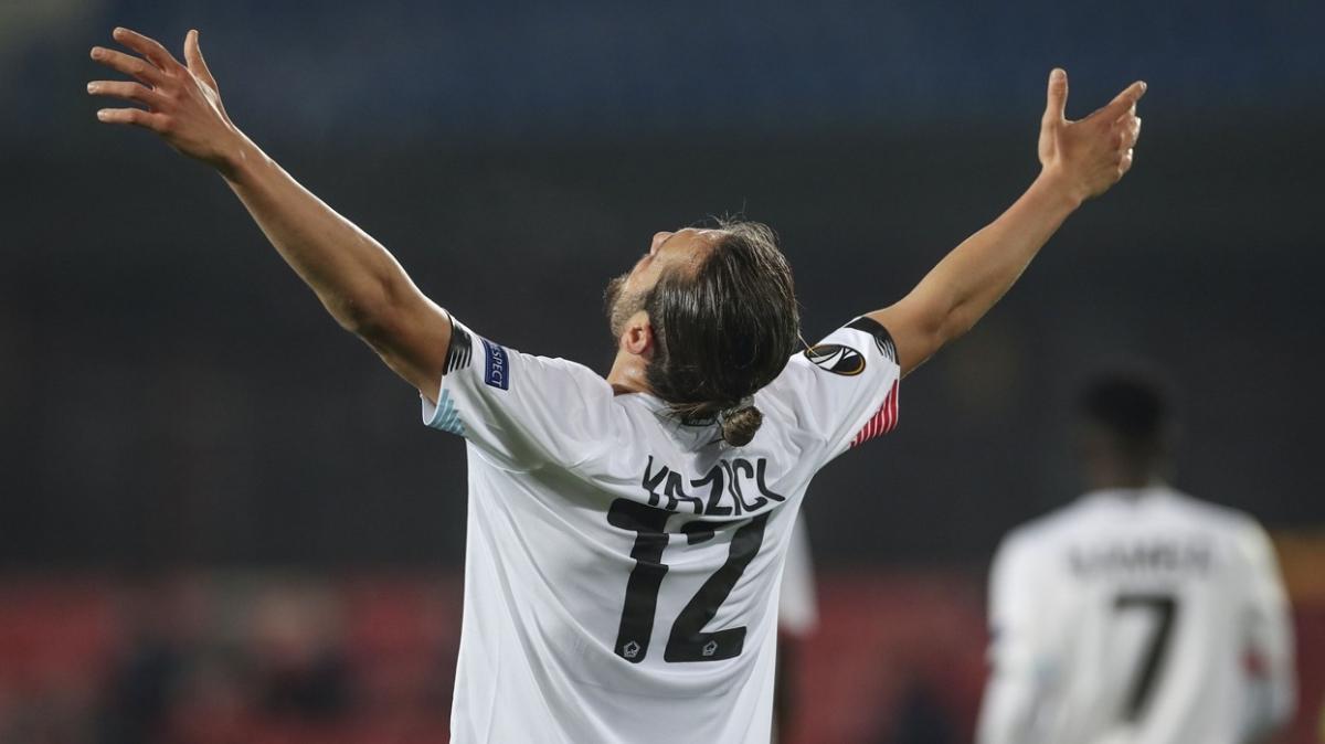 UEFA Avrupa Ligi'nde haftanın futbolcusu Yusuf Yazıcı