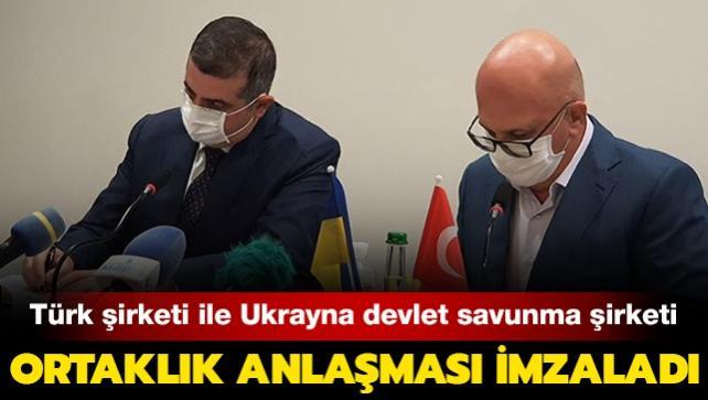 Türk şirketi ile Ukrayna devlet savunma şirketi ortaklık anlaşması imzaladı