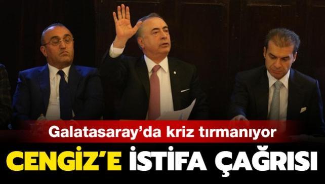 Mustafa Cengiz'e istifa çağrısı