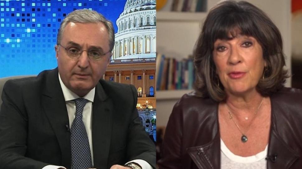 İşgalci Ermenistan'ın Dışişleri Bakanı CNN'de rezil oldu... 'Sizin politikanız bu mudur?'