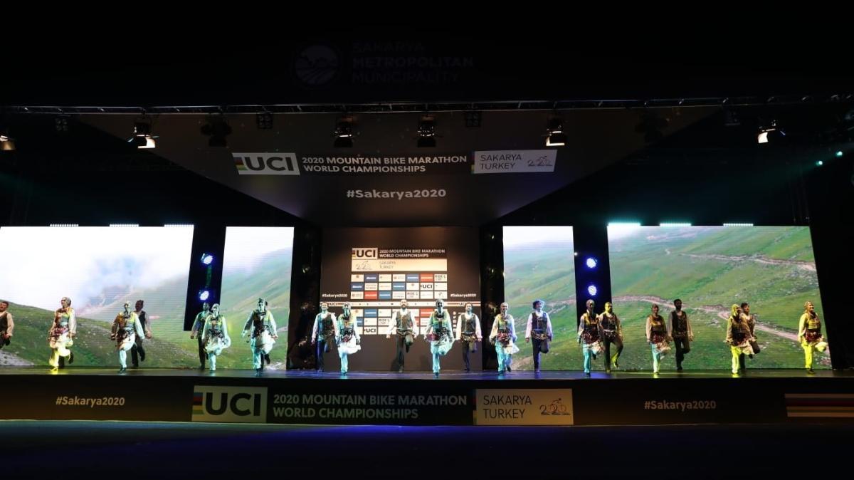 2020 Dağ Bisikleti Maraton Dünya Şampiyonası'nda açılış yapıldı
