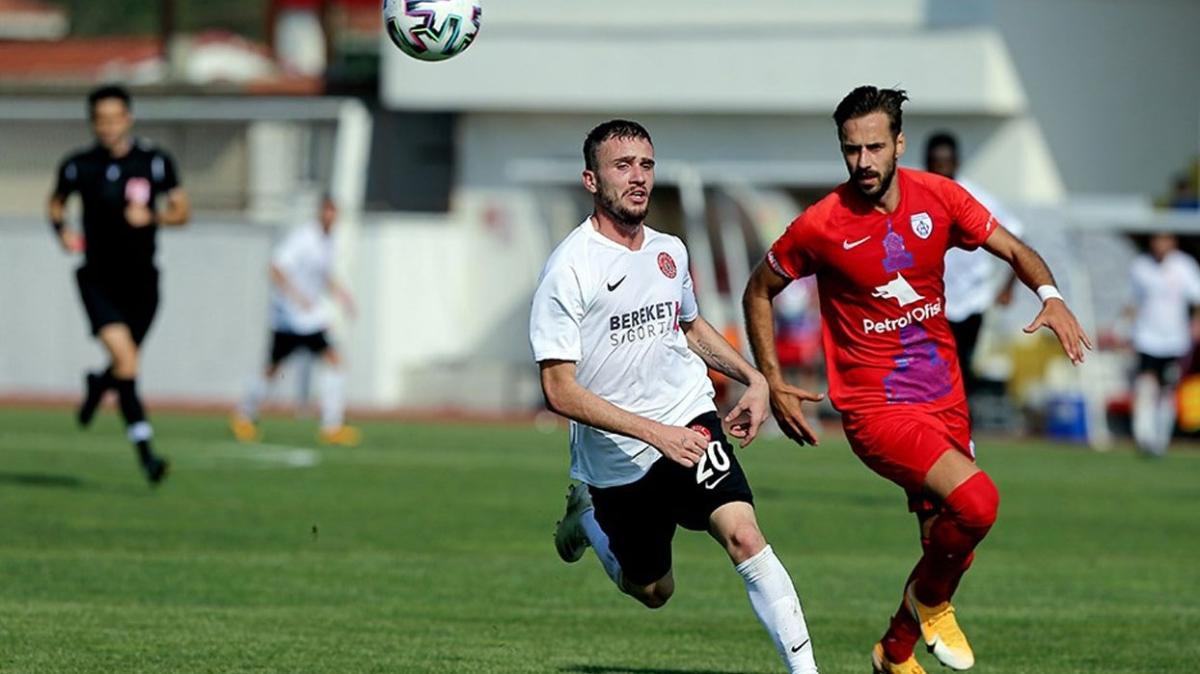 Altınordu-Ümraniyespor maçında kazanan çıkmadı