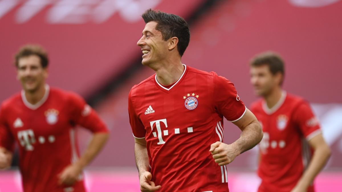 Bayern Münih, Frankfurt'u 5'ledi