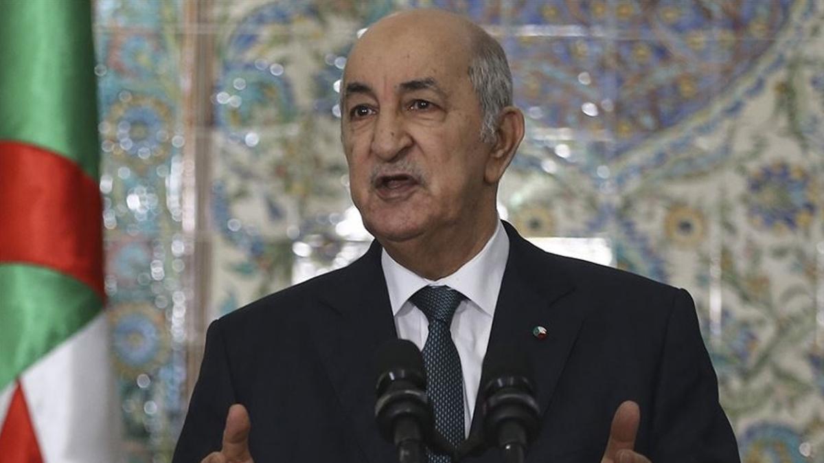 Cezayir Cumhurbaşkanı Tebbun koronavirüs nedeniyle kendisini karantinaya aldı