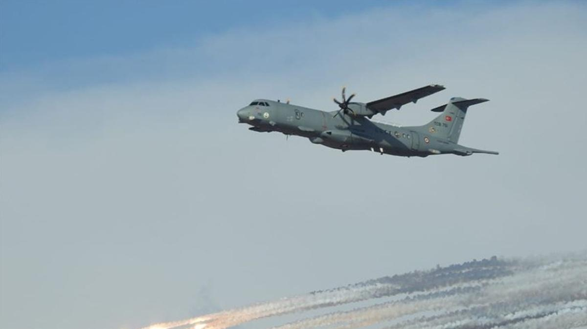 Denizlerdeki etkinliğe önemli ölçüde katkı sağlayacak... P-72 uçaklarının kabul test uçuşları devam ediyor