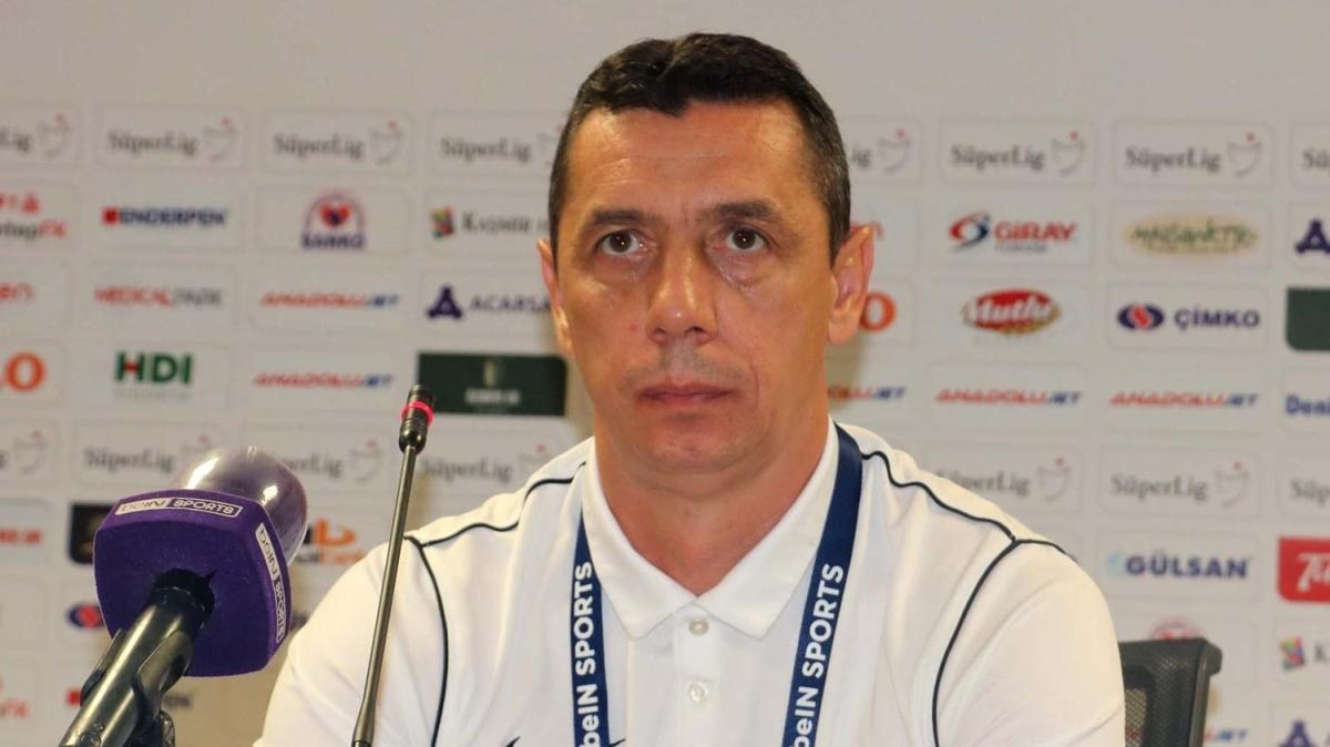Gaziantep FK - İttifak Holding Konyaspor maçının ardından