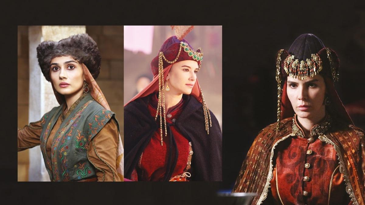 'Uyanış Büyük Selçuklu'nun kostümlerinde hattat imzası