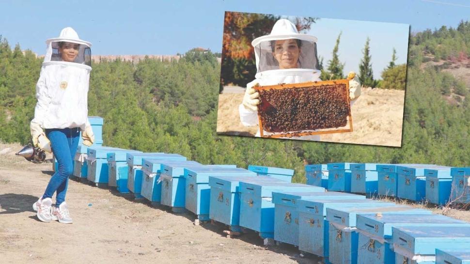 Arıların patroniçesi 'Yapamazsın' diyenlere inat başardı