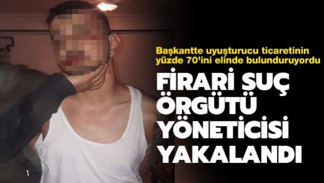 Firari suç örgütü yöneticisi Emre Z. yakalanarak gözaltına alındı
