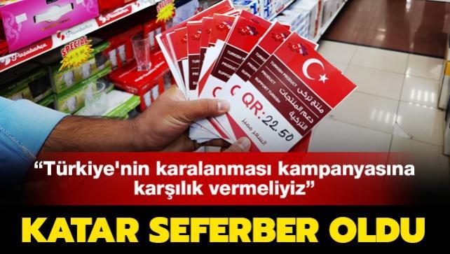 Katar seferber oldu: Türkiye'nin karalanması kampanyasına karşılık vermeliyiz