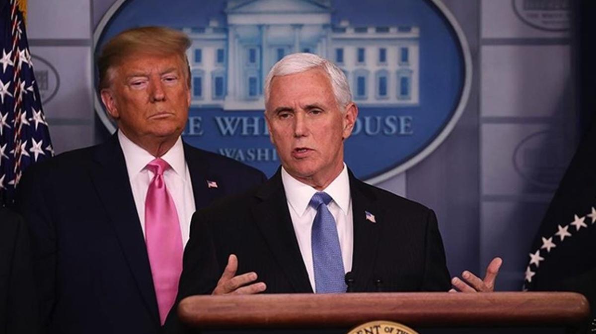 ABD Başkan Yardımcısı Pence'in danışmanı ve özel kalemi koronavirüse yakalandı