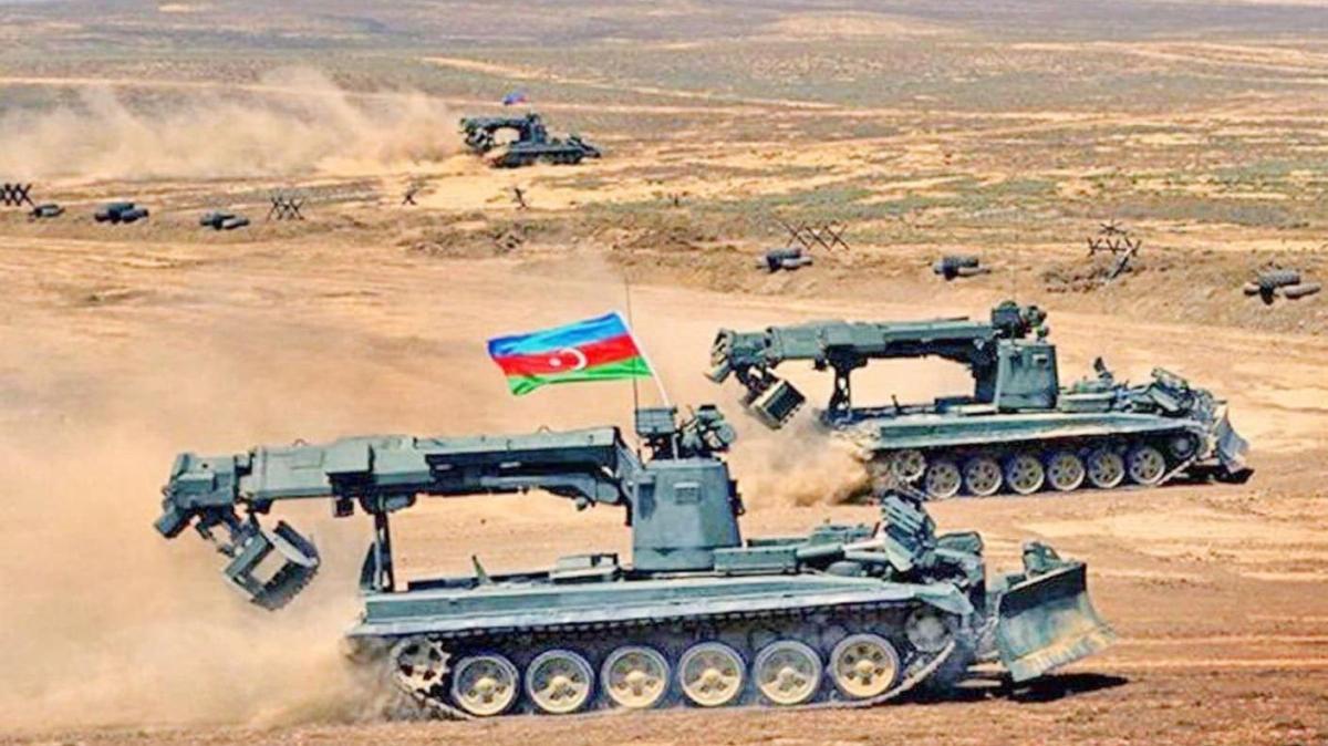 Azerbaycan ve işgalci Ermenistan'ın anlaştığı insani amaçlı geçici ateşkes yürürlüğe girdi
