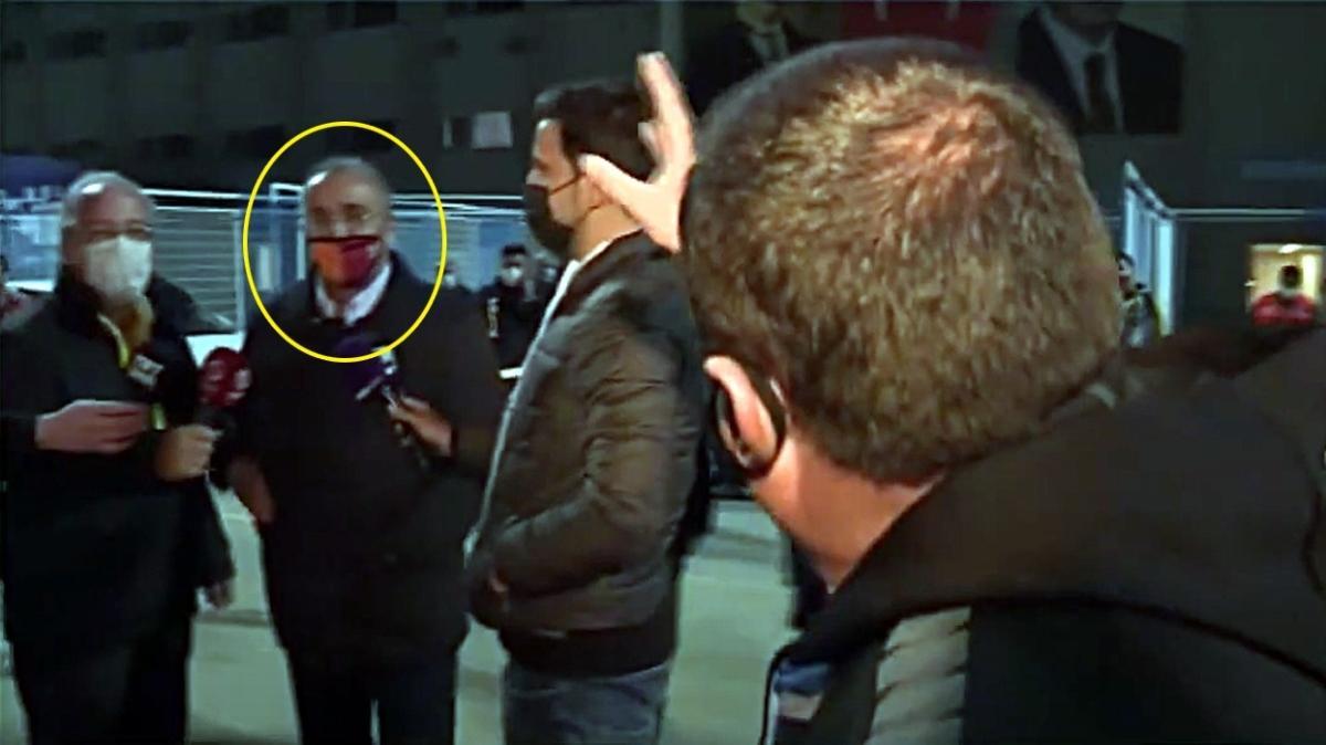 Abdurrahim Albayrak'a röportaj sırasında tepki: Vicdanınız rahat mı!