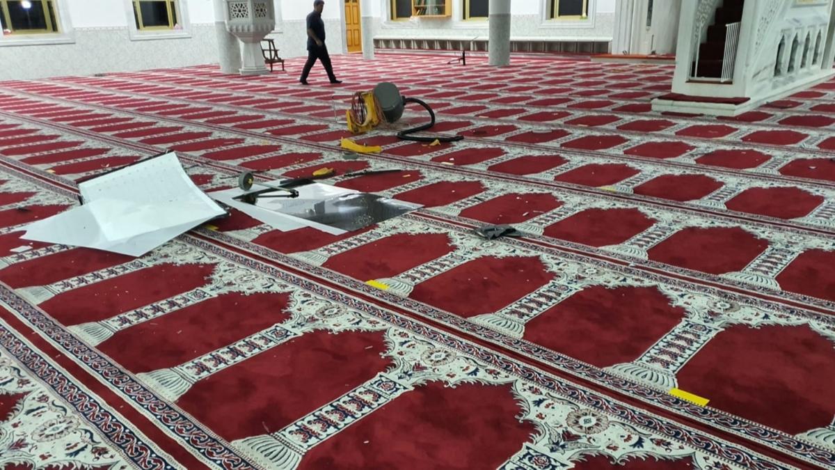 Avustralya'da Türkler'e ait camiye saldırı: Saldırgan gözaltına alındı