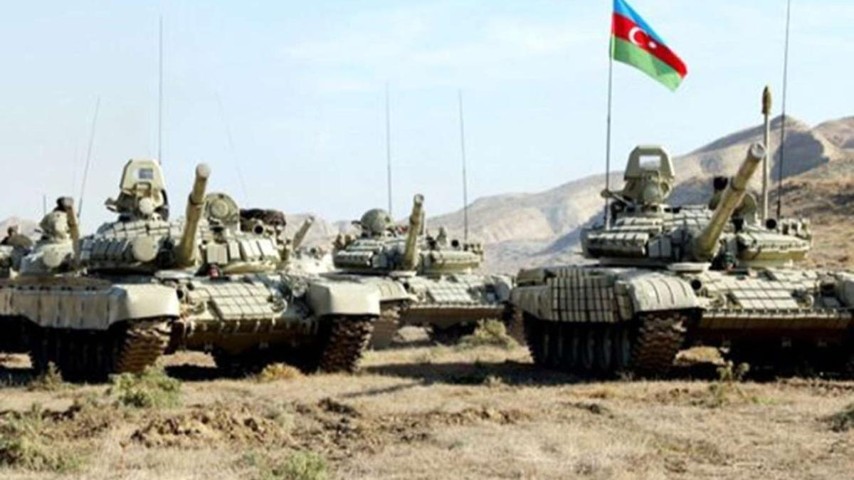 Azerbaycan ordusu Gubadlı kentini işgalden kurtardı