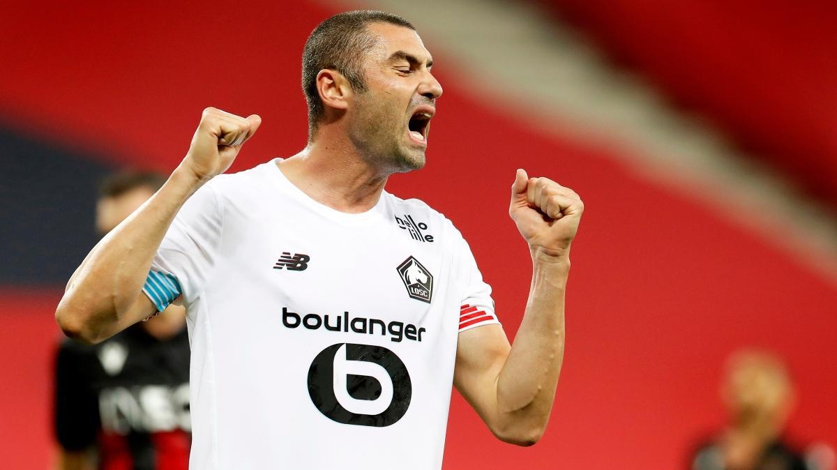 Burak'ın golü yetmedi, Lille liderliği kaptırdı