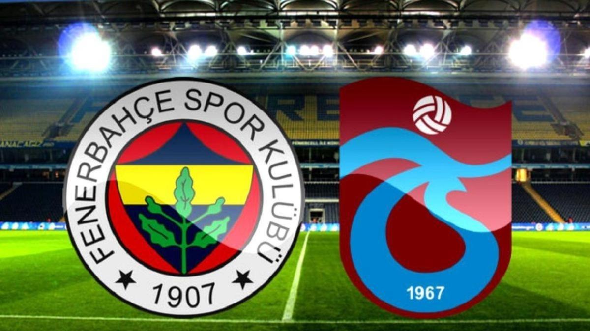 """Fenerbahçe Trabzonspor maçı saat kaçta, hangi kanalda"""" Derbi şifresiz mi izlenecek"""""""