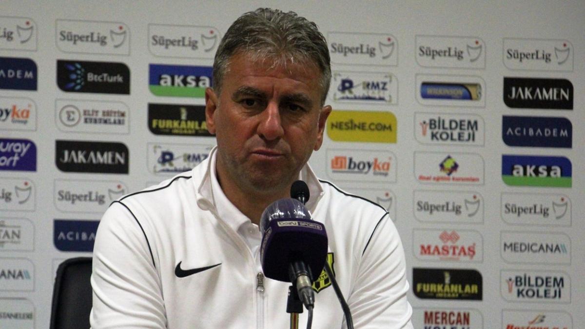 Hamza Hamzaoğlu: Maçın tamamında iyi bir futbol oynadık