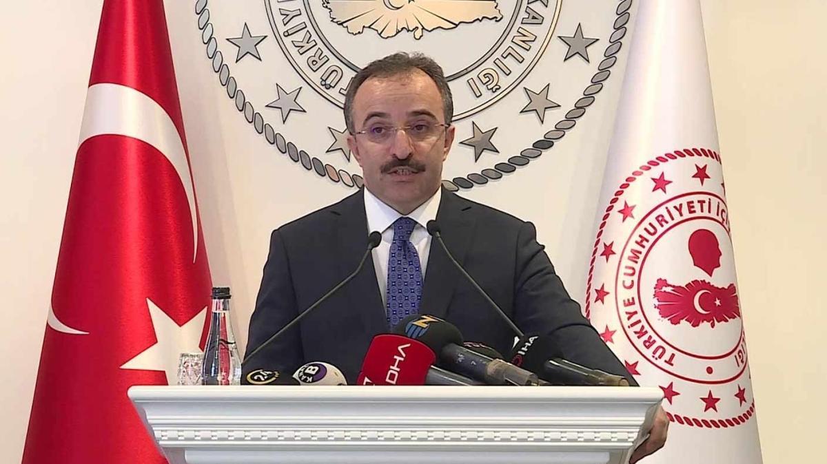 İçişleri Bakanı Yardımcısı Çataklı açıkladı: Örgüte katılım en düşük seviyede