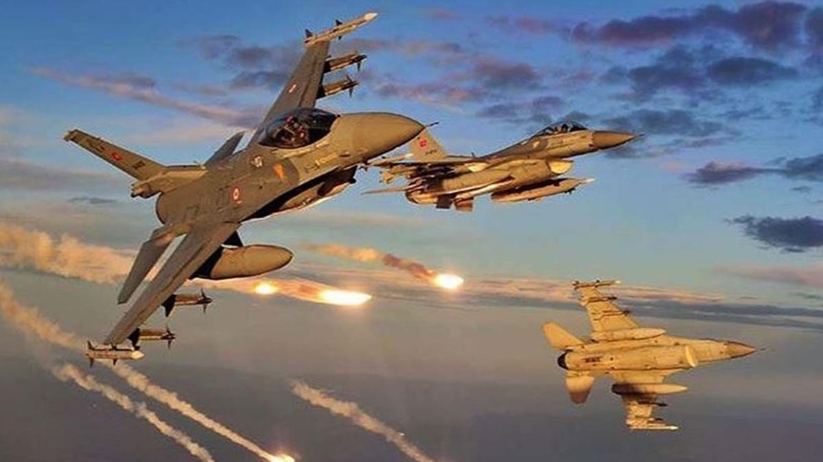 MSB: Saldırı hazırlığındaki 3 terörist hava harekatıyla etkisiz hale getirildi