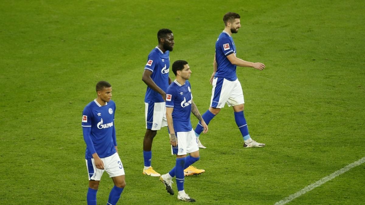 Schalke 04'ün galibiyet hasreti 21 maça çıktı