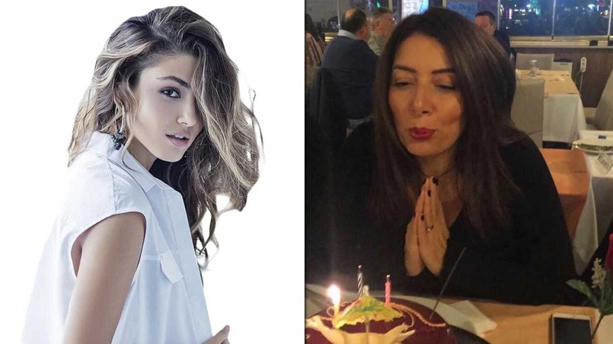 Sen Çal Kapımı'nın Eda'sı Hande Erçel vefat eden annesi Aylin Erçel'in doğum gününü kutladı