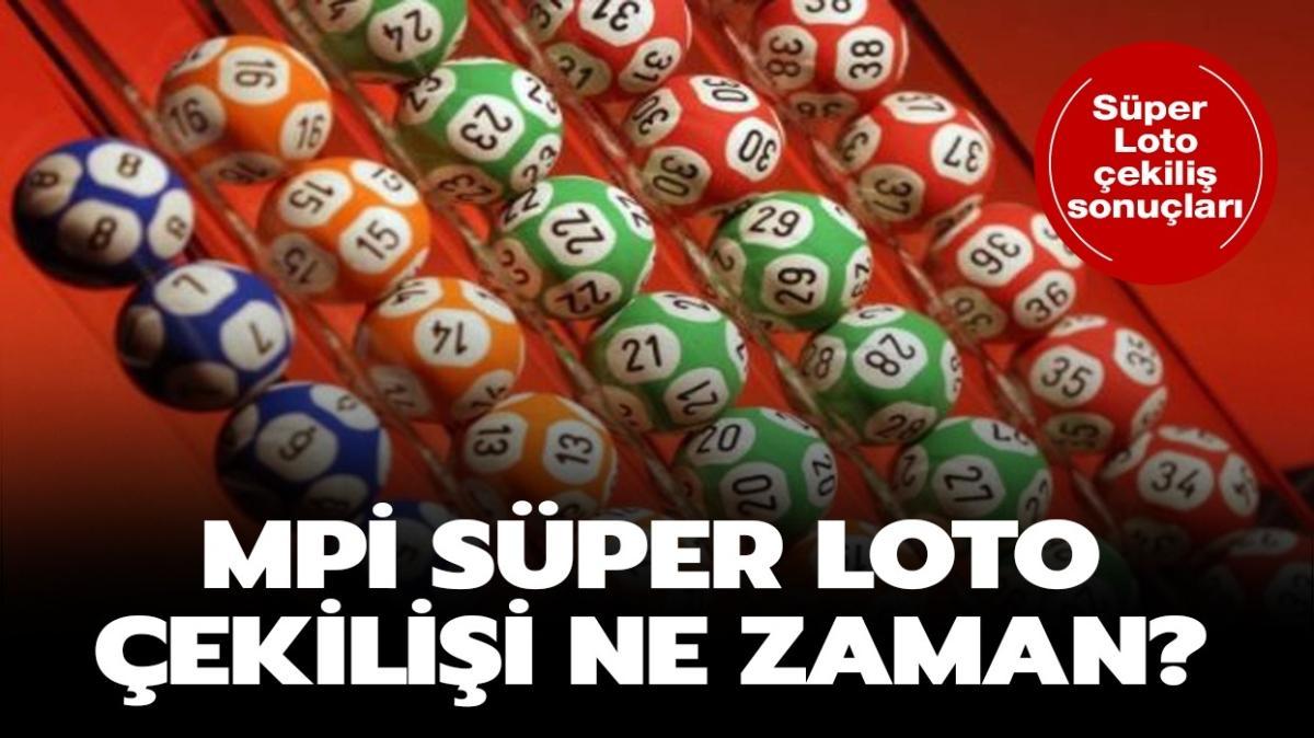 25 Ekim 2020 Süper Loto sonuçları yayında!