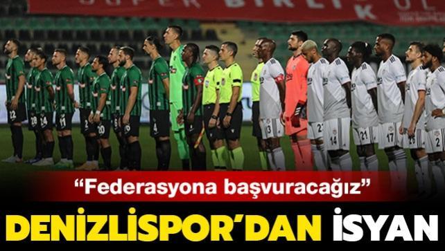 Denizlispor cephesinden maç sonu flaş açıklama