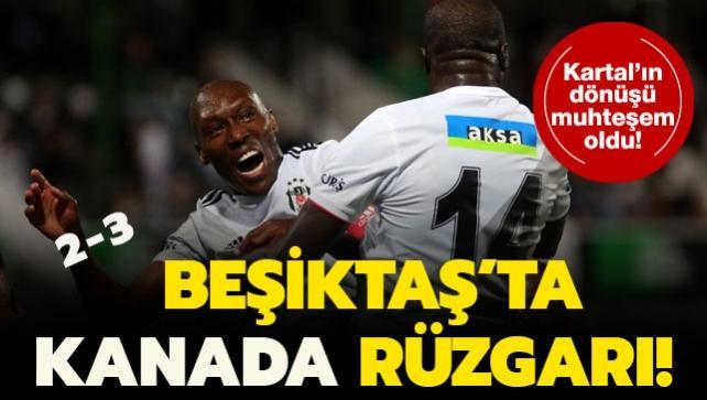Beşiktaş'ı Kanadalı yıldızları uçurdu