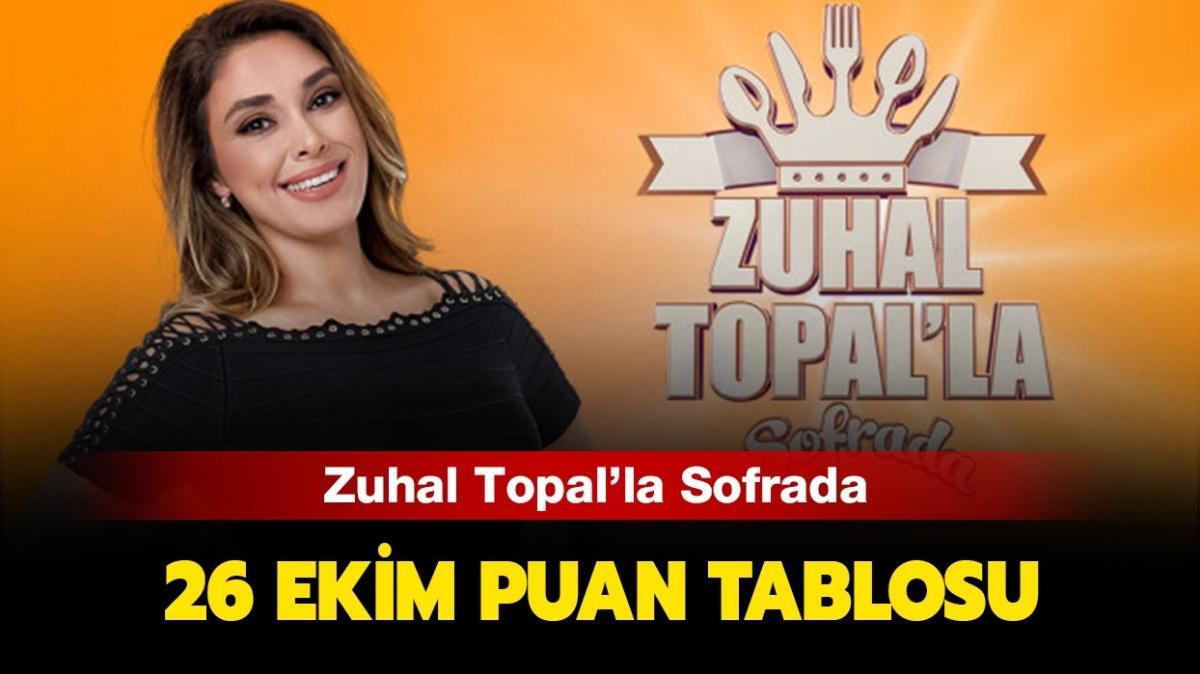 26 Ekim 2020 Zuhal Topal'la Sofrada puan tablosu!