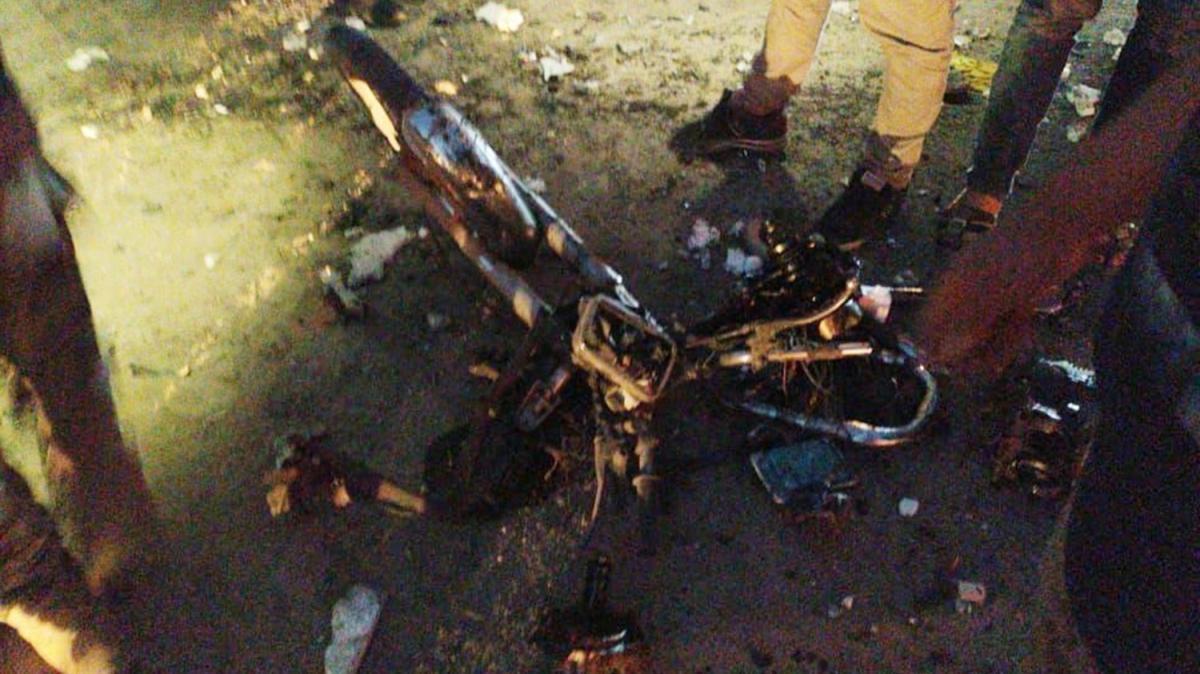 Afrin'de bomba yüklü motosikletle terör saldırısı