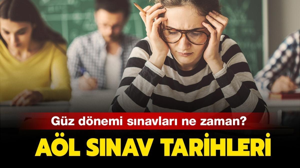 """Açıköğretim Lisesi (AÖL) 1. dönem sınavları ne zaman"""" AÖL sınav tarihleri 2020!"""