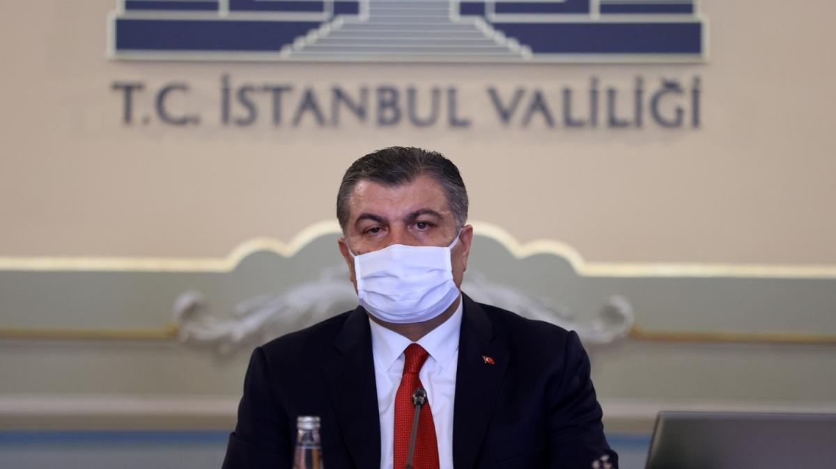 Bakan Koca, İstanbul'daki koronavirüs vakalarını değerlendirdi: 28 ilçede vaka artış yüzde 50'nin üzerindedir