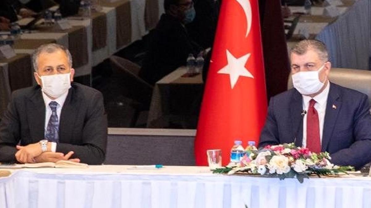 İstanbul'da kritik koronavirüs toplantısı: Sağlık Bakanı Koca İstanbul Valiliği'ne geldi